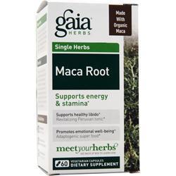 Gaia Herbs Maca Root 60 vcaps