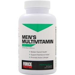 FORCE FACTOR Men's Multivitamin 60 tabs