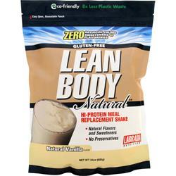 LABRADA Lean Body Natural - Hi Protein Meal Replacement Shake Natural Vanilla 24 oz