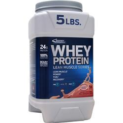 INNER ARMOUR Whey Protein - Lean Muscle Series Strawberry Banana 5 lbs