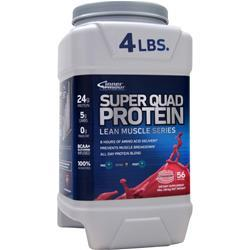 INNER ARMOUR Super Quad Protein - Lean Muscle Series Strawberry 4 lbs