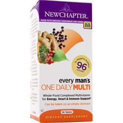 NEW CHAPTER Organics - Every Man's ONE DAILY 96 tabs