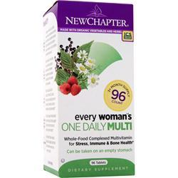 New Chapter Organics - Every Woman's One Daily Multi 96 tabs