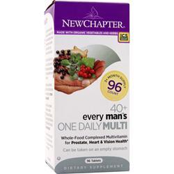 NEW CHAPTER Organics - 40+ Every Man's One Daily 96 tabs