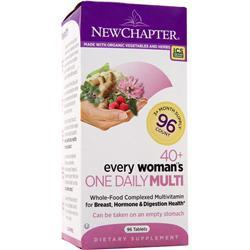 NEW CHAPTER Organics - 40+ Every Woman's One Daily 96 tabs