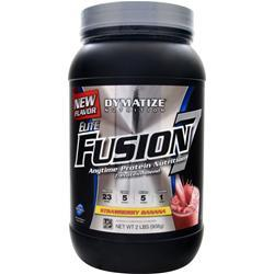 Dymatize Nutrition Elite Fusion 7 Strawberry Banana 2 lbs