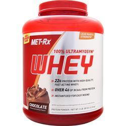 Met-Rx 100% Ultramyosyn Whey Protein Chocolate 5 lbs