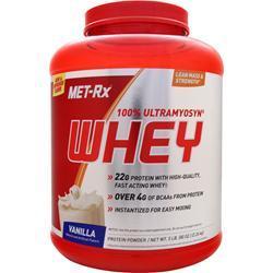 MET-RX 100% Ultramyosyn Whey Protein Vanilla 5 lbs
