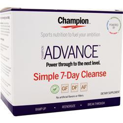 Champion Advance Simple 7-Day Cleanse 1 kit