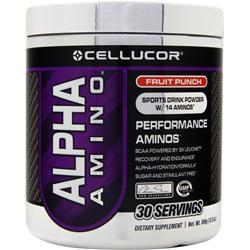 CELLUCOR Alpha Amino Fruit Punch 366 grams
