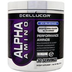 CELLUCOR Alpha Amino Icy Blue Razz 366 grams