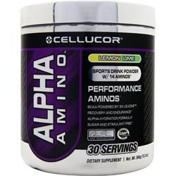 CELLUCOR Alpha Amino Lemon Lime 366 grams