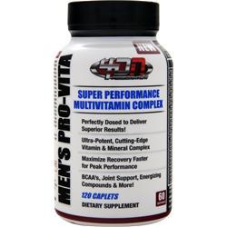 4 DIMENSION NUTRITION Men's Pro-Vita 120 cplts