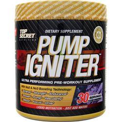 TOP SECRET NUTRITION Pump Igniter - Pre Workout Grape 225 grams