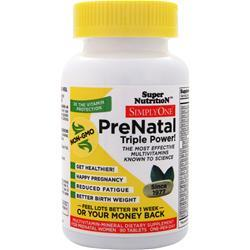 SUPER NUTRITION Simply One Prenatal Triple Power 90 tabs