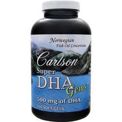 CARLSON Super DHA Gems 240 sgels