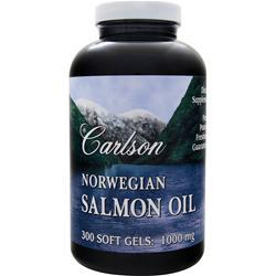Carlson Norwegian Salmon Oil (1000mg) 300 sgels