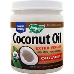 NATURE'S WAY Pure Extra Virgin Coconut Oil (Organic) 32 oz