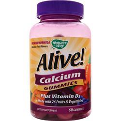 NATURE'S WAY Alive Calcium Gummies 60 gummy