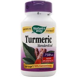 Nature's Way Turmeric - Standardized Extract (750mg) 60 vcaps