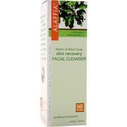 ALAFFIA Neem & Black Soap Skin Recovery Facial Cleanser 3.4 fl.oz