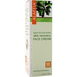 ALAFFIA Neem & Shea Butter Skin Recovery Face Cream 2.3 fl.oz