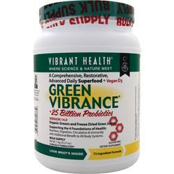 VIBRANT HEALTH Green Vibrance Powder 35.27 oz