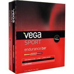 VEGA Vega Sport - Endurance Bar Acai Berry 12 bars