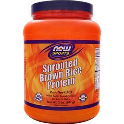 NOW Sprouted Brown Rice Protein 2 lbs