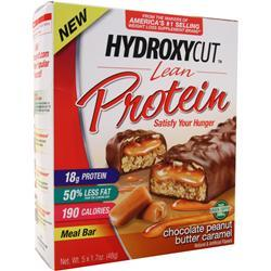 Muscletech Hydroxycut Lean Protein Bar Chocolate PB Caramel 5 bars