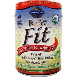 GARDEN OF LIFE Raw Fit - High Protein for Weight Loss Marley Coffee 16 oz
