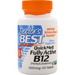 DOCTOR'S BEST Quick Melt Fully Active B12 60 tabs