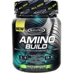 Muscletech Amino Build Green Apple 445 grams
