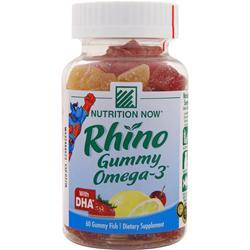 Nutrition Now Rhino Gummy Omega-3 60 gummy