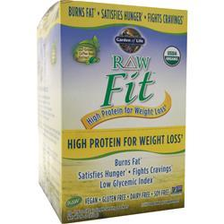 Garden Of Life Raw Fit - High Protein for Weight Loss Unflavored 10 pckts