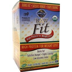 GARDEN OF LIFE Raw Fit - High Protein for Weight Loss Marley Coffee 10 pckts