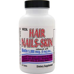 VITOL Hair Nails-Skin Best by 2/15 45 tabs