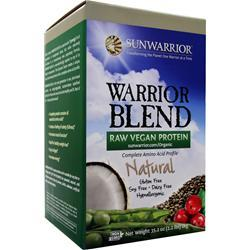 SunWarrior Warrior Blend - Raw Vegan Protein Natural 1 kg