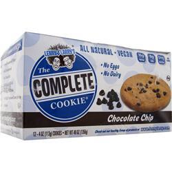 LENNY AND LARRY'S The Complete Cookie - All Natural Chocolate Chip 12 pck