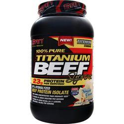 SAN 100% Pure Titanium Beef Supreme Vanilla Cream 2.03 lbs