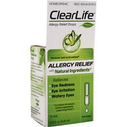 HEEL ClearLife Allergy Relief Drops (formerly Ocuheel) 10 vials