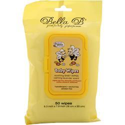 Bella B Baby Wipes 50 wipes