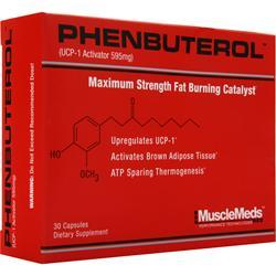 MUSCLEMEDS Phenbuterol - Maximum Strength Fat Burning Catalyst 30 caps