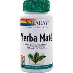 Solaray Yerba Mate (450mg) 100 caps