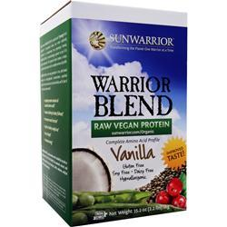 SUNWARRIOR Warrior Blend - Raw Vegan Protein Vanilla 1 kg