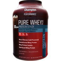 Champion Nutrition Pure Whey Plus Cocoa Mochaccino 4.8 lbs