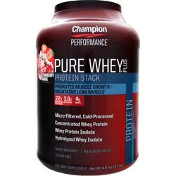 Champion Nutrition Pure Whey Plus Strawberry Sundae 4.8 lbs