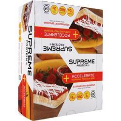 SUPREME PROTEIN Accelerate Morning Protein Bar Strawberry Banana 12 bars