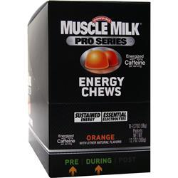 Cytosport Muscle Milk Pro Series - Energy Chews Orange 10 pckts