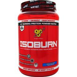 BSN Isoburn - Metabolic Activating Whey Isolate Blend Vanilla Ice Cream 600 grams